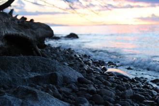 Sunset at Wreck