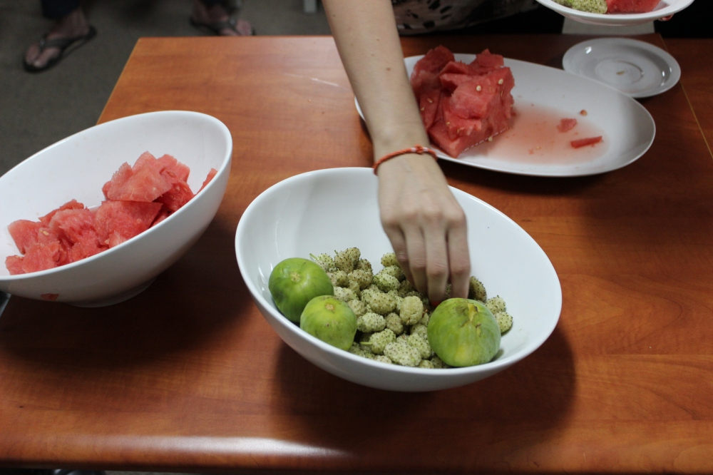 Best watermelon (!!!), figs and toot berries
