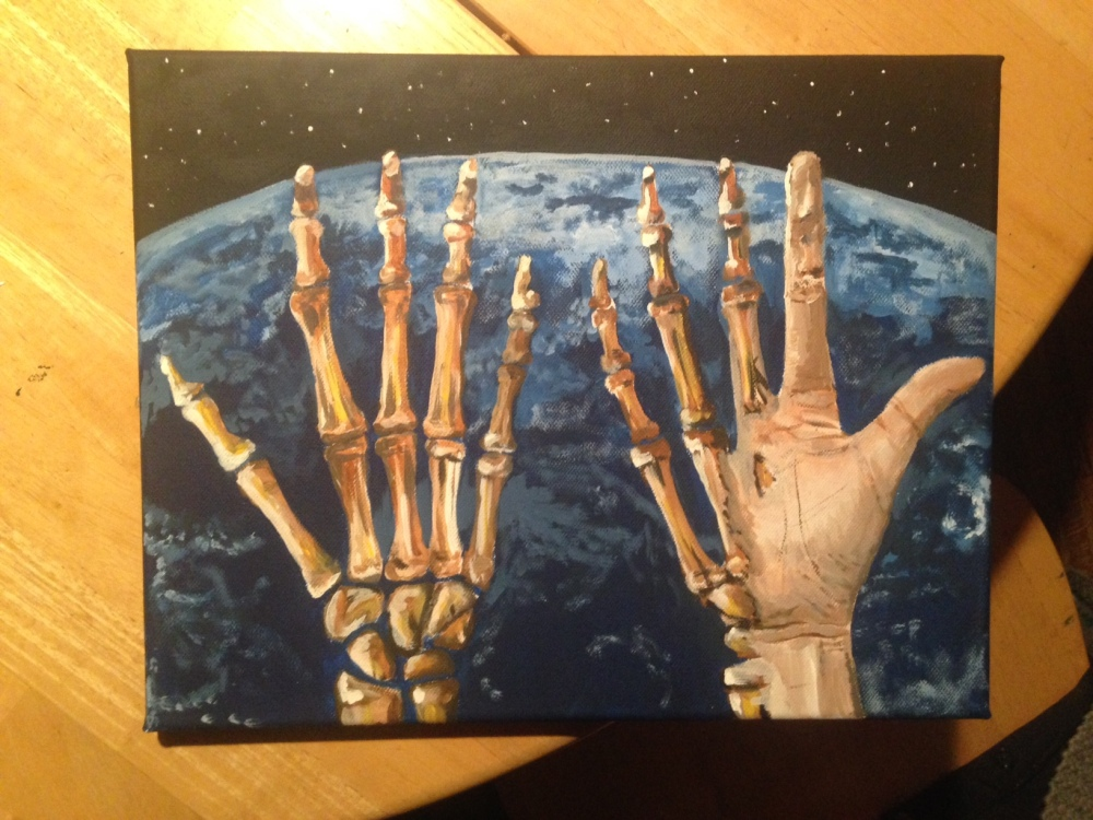 With Human Hands