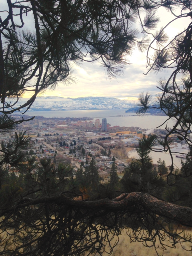 Kelowna, BC, from Knox Mountain