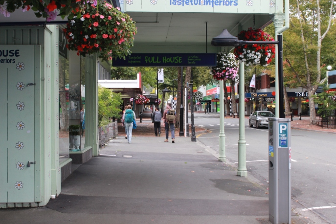The Crew walking the streets of Nelson