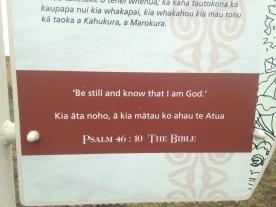 Bible verse in Maori