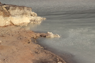 Bubbling lake