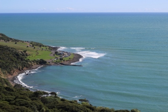 Manu Bay from the top