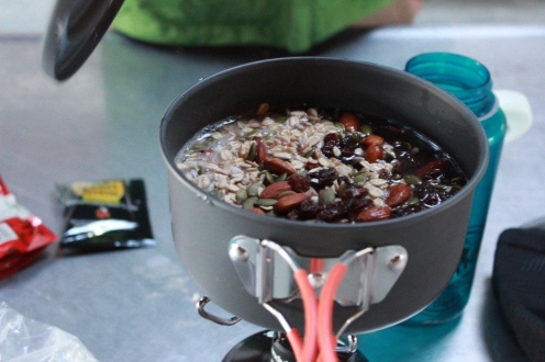 Delicious porridge for adventuring folks